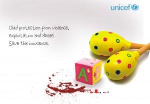 ad campaign child violence